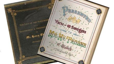 Historic book that has returned to Wisbech
