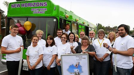 The New Horizons Bus, which will tour Fenland