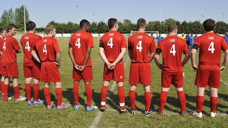 The Jack Ure Memorial Match, at Ely City FC
