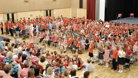 Pupils from Peckover School held a multi-lingual singing festival at Thomas Clarkson Academy.