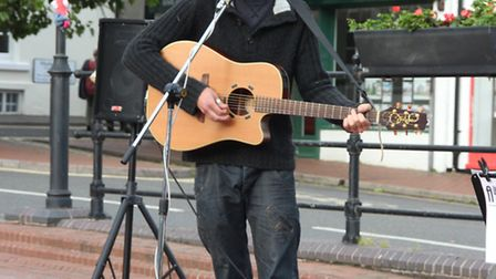 Acts from the June 22 Summer Saturday event in Ely