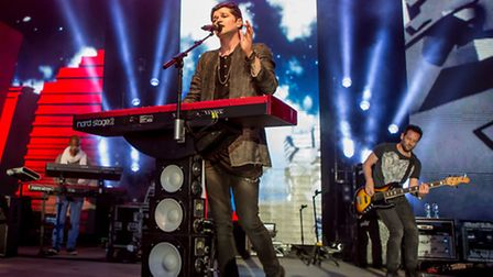 The_Script__Playing_a_Gig_at_Thetford_Forest_Photograph_Blanc_Photography