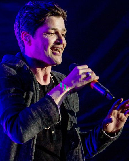The_Script_in_Concert_at_Thetford_Forest_July_11th_2013_Photograph_Blanc_Photography