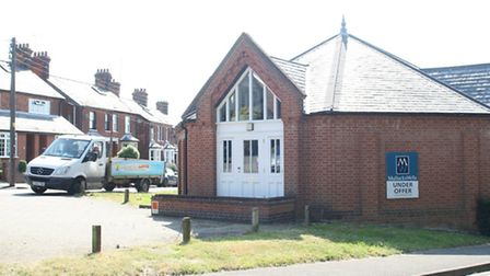 Proposed site for Domino's Pizza branch.Station Road, Dunmow.July 09, 2013.Photograph by Michael Boy