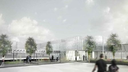 How the new railway station will look