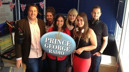 The team at Star Radio have renamed themselves Prince George Radio for the week.