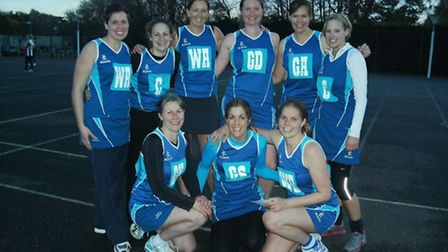 City of Ely Netball Club's second team