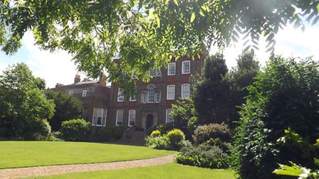 The grounds at Peckover House