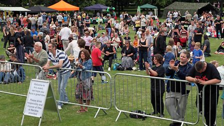 Wisbech Rock Festival. Picture Barry Giddings.