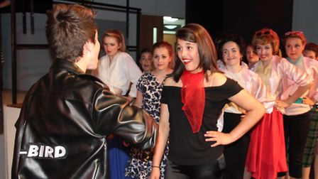 Viva production of Grease. Pictures: MIKE ROUSE