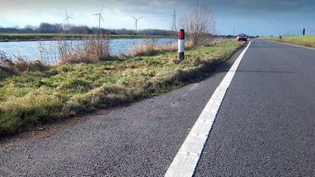 North Bank Road near Whittlesey