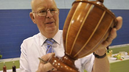 Ely Horticultural Society Annual Show, chairman Alan Jillings