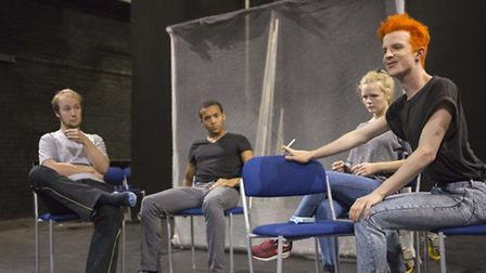 Rehearsals for Measure for Measure.
