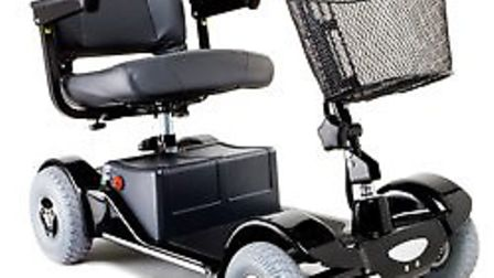 A mobility scooter similar to this was stolen from the home of Gordon England, 89, of March