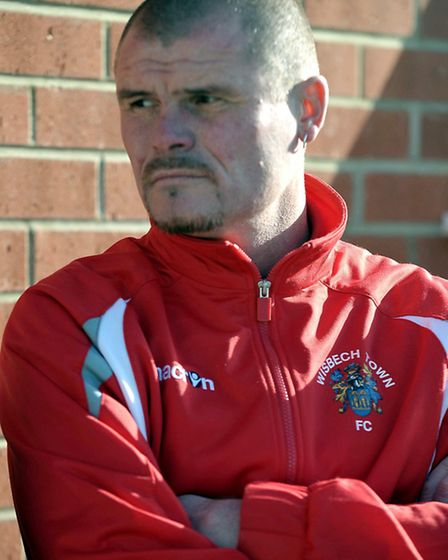 Wisbech Town manager Steve Appleby. Picture Brian Purdy