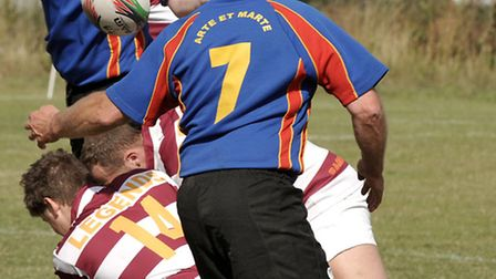 Scotty's little soldiers charity rugby game at the March Bears ground. Picture: Steve Williams.