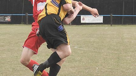 March Town Vs Needham Mkt reserves. Picture: Steve Williams.
