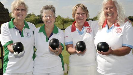 March Bowls finals. Ladies pairs.