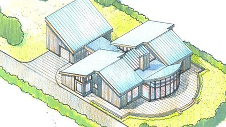 The proposed house in Wentworth