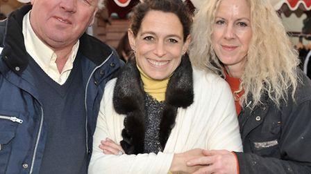 Oak Garden Centre, London Road, Chatteris New Year Winter Market,Alex Polizzi was there from The Fix