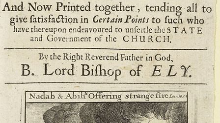 'Five Sermons preached before his Majesty King Charles II at Whitehall', Bishop Laney of Ely.