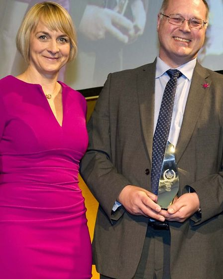 Keith Smith, Director of the Luminus Ferry Project, was named Inspirational Leader of the Year at th