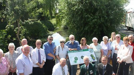 Anglia in Bloom: Pond project at Parson Drove