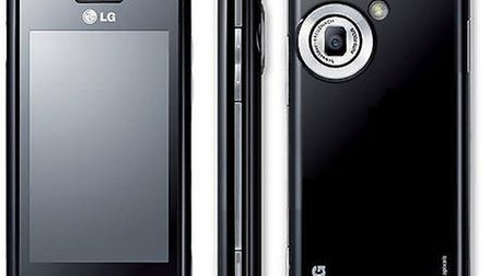 An image of an LG GM630 phone which Alisa had and which is still missing. Pic Submitted.