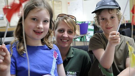 Ely Museum hold a Furry Animals Day, with Woodgreen Animal Shelter, Education Officer Helen Bulgin w