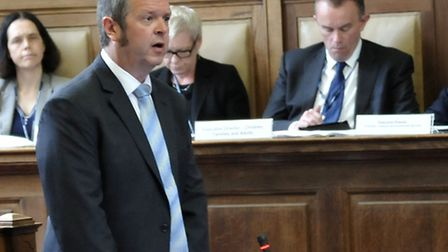 Election of Chairman and Leader for Cambridgeshire County Council. Cllr Martin Curtis.