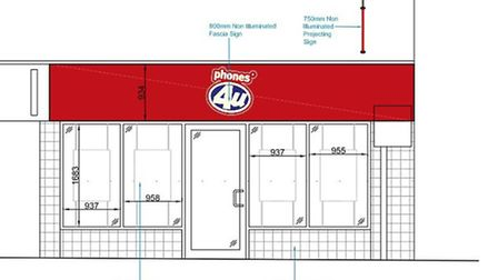 The Phones 4 U plans for Ely's High Street
