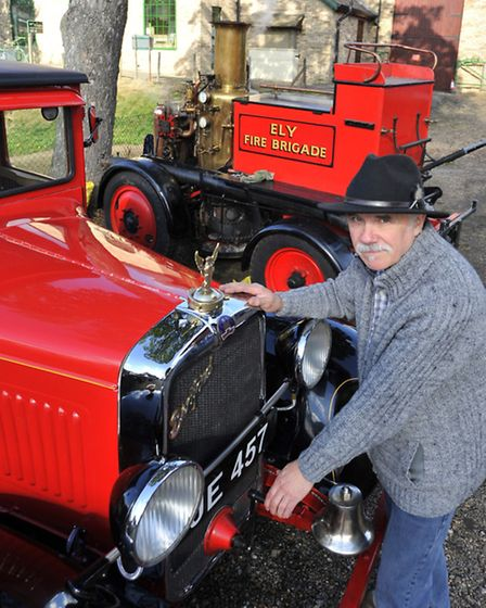 Peter Swann from Emneth took the Ely Fire Tender to last year's festival.