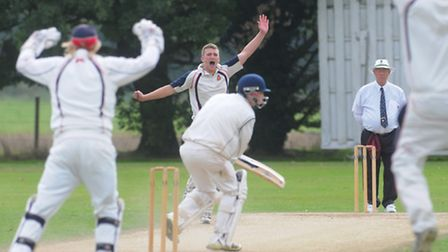 EAPL play off between Norwich ( batting ) and Wisbech. Photo: Steve Adams