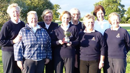 The Ely City team which finished runner-up to St Ives