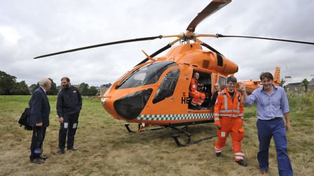 The new Magpas Helicopter