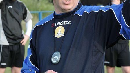 March Town pre-season training. Manager Paul Crosbie. Picture: Steve Williams.