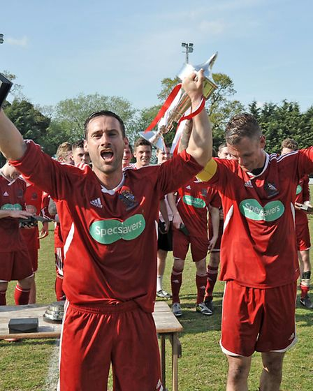 Wisbech Town vs Stanway rovers - Red Insure Cup final. Picture: Steve Williams.