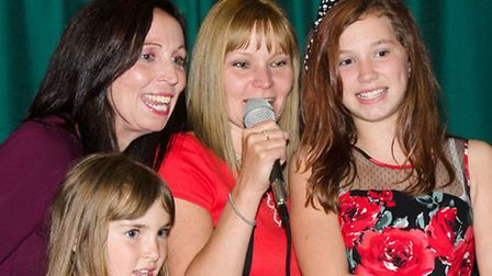 FRSC Charlotte's Way. Charity Disco at the Ivy Leaf club Whittlesey. Photos Kerry Chapman.