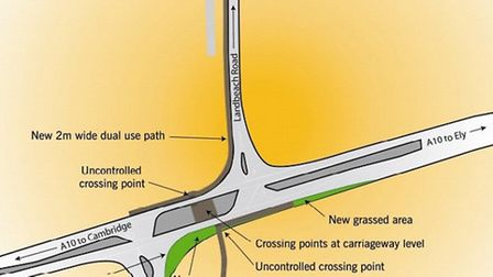 The first involves closing the slip lane to Milton, narrowing the Cambridge bound carriageway and cr