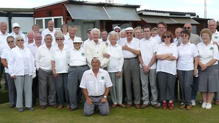 The March Outdoor GER bowlers held their annual charity match, in memory of Ivy Norton,