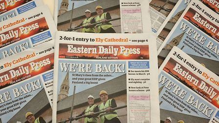 Eastern Daily Press Fenland Edition launch.