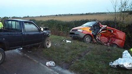 The second collision took place at about 6.20am