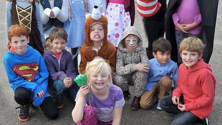 Downham Feoffees school, little Downham. The children came to school dressed as their favourite book
