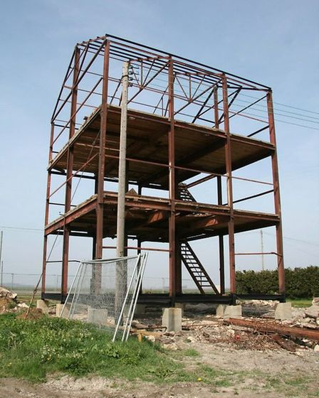The Old Feed Mill was stripped back to its steel frame