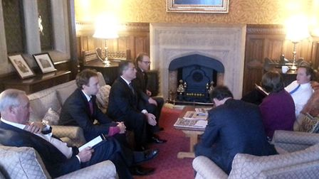 Suffolk MPs met the Prime Minister to discuss the A14 improvement scheme.