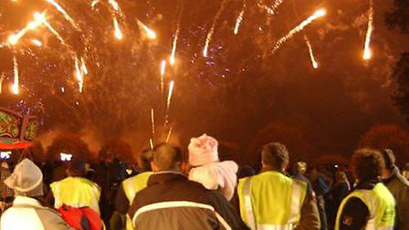 Last year's firework display in Ely was a huge success