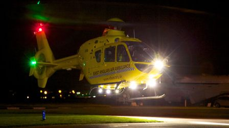 East Anglian Air Ambulance has announced full night time cover.
