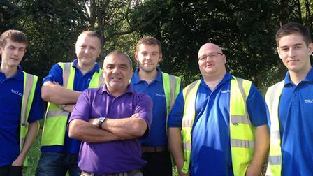 Bloom & Wake - BBC DIY SOS Project. Bloom and Wake team with Billy the DIY SOS Electrician.