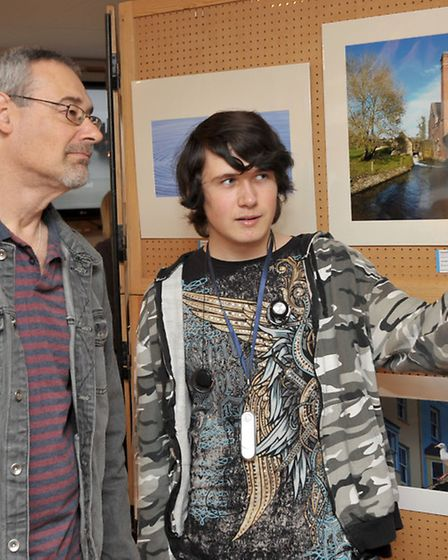 Fenland Camera Club held their annual photography exhibition at the Falcon Hotel, Whittlesey. Gary a