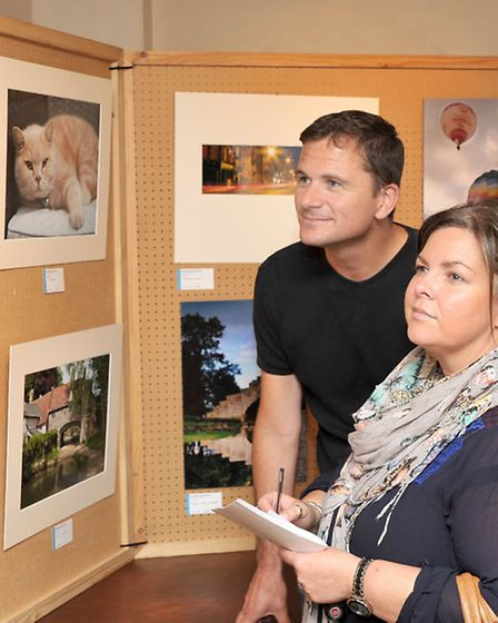 Fenland Camera Club held their annual photography exhibition at the Falcon Hotel, Whittlesey. Left: